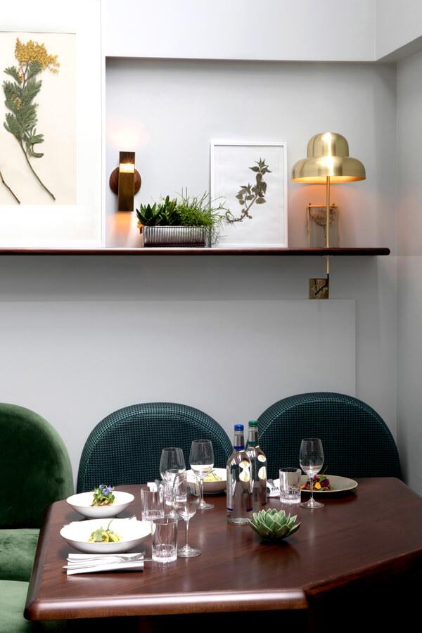restaurant 3 henrietta hotel london