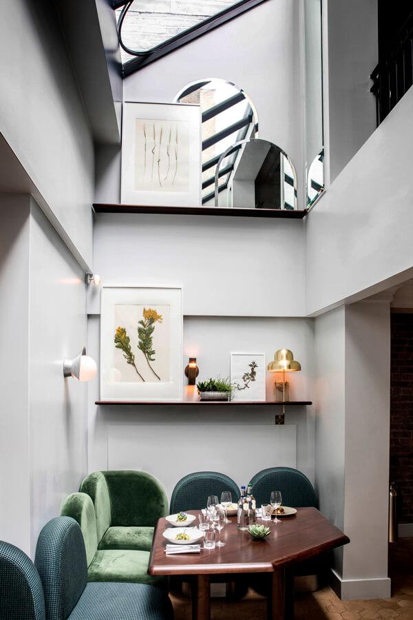 restaurant 4 henrietta hotel london