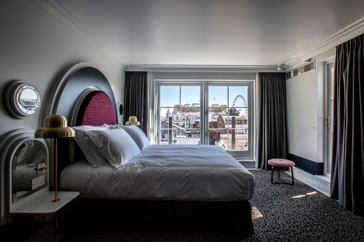 Grand London Eye Room henrietta hotel london 1