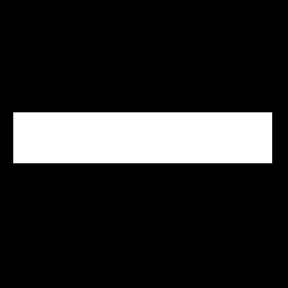 Dedo logo in white.