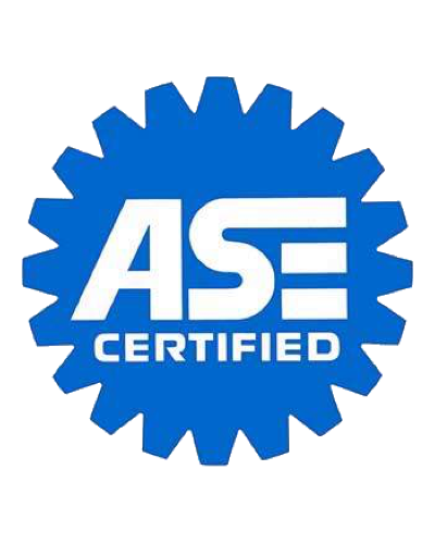 An image of ASE certification badge