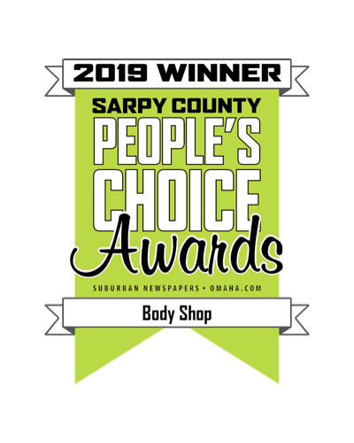 An image of the People's Choice Award for Best Body Shop