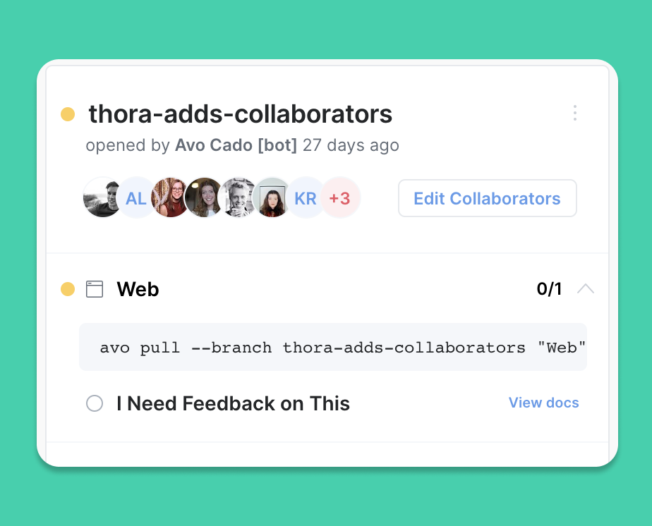 Introducing Branch Collaborators