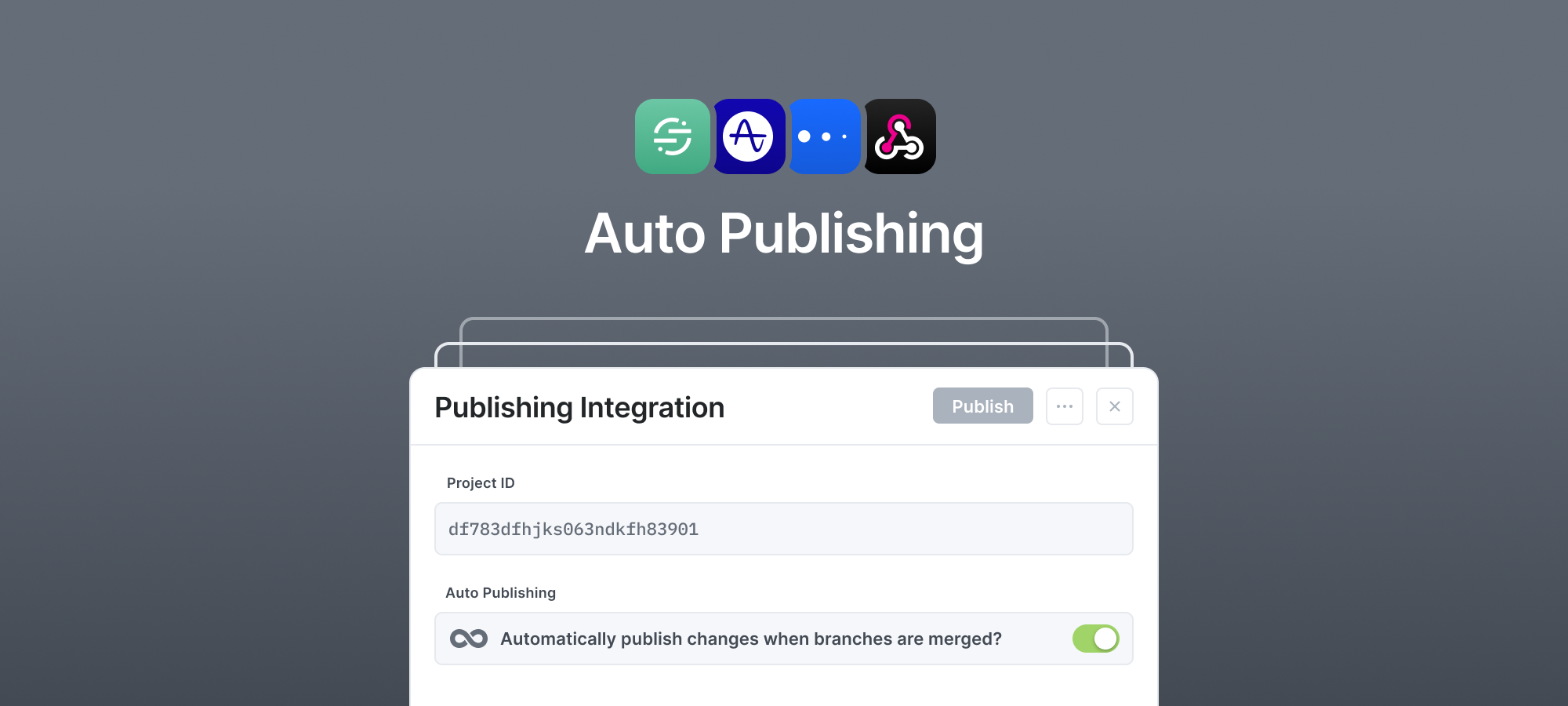 Publish your tracking plan into Amplitude, Mixpanel, Segment or with a Webhook