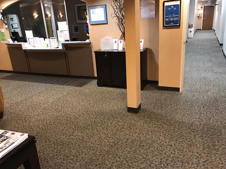 Commercial carpet cleaning by Vivo Clean