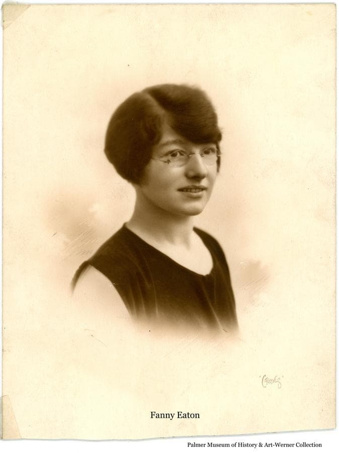 Image is a portrait of Fanny Eaton taken in England, probably shortly before she came to Alaska in 1929 and subsequently married Adam Werner in 1930.