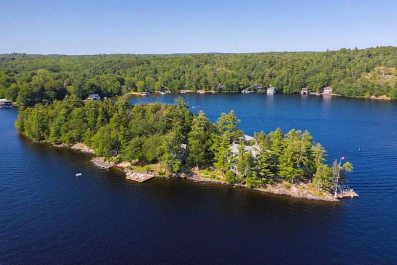 "Lake Muskoka - One of The Last of The ""Great Ones"" A Classic Storybook of Muskoka Grandeur"