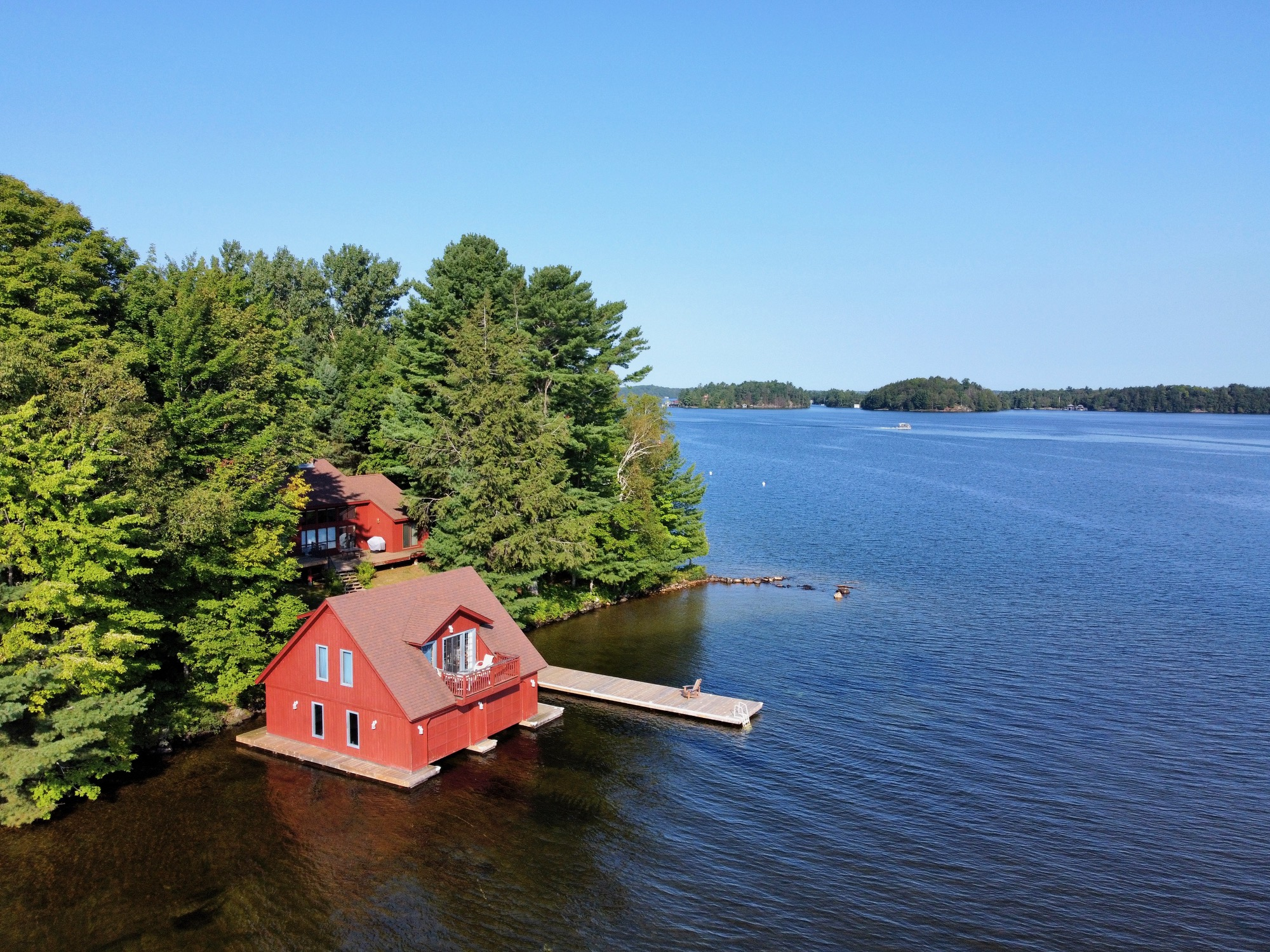 Lake Rosseau - South Rosseau with Incredible Privacy, Views, & Location