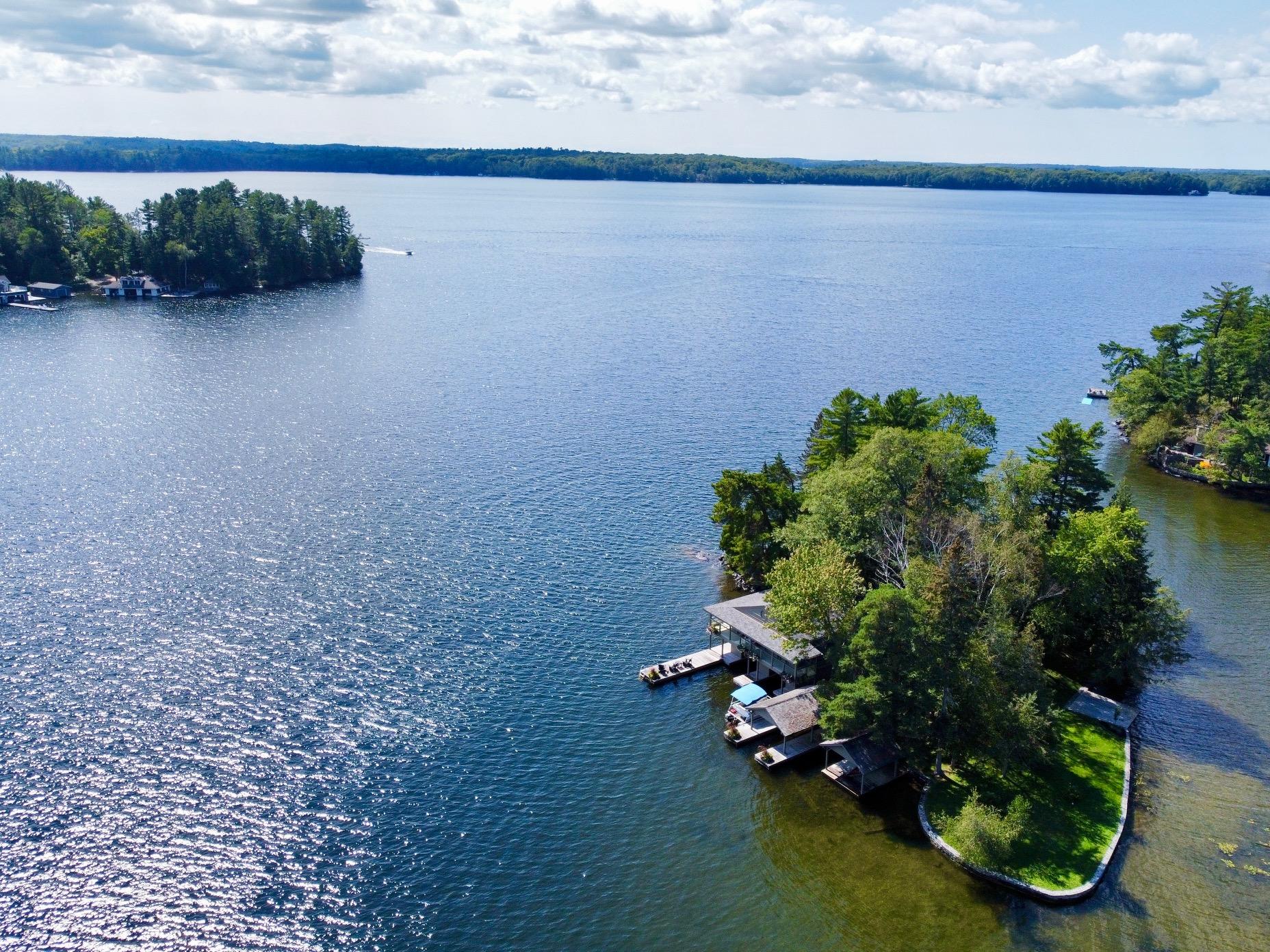 Lake Rosseau - Ellen Island. Rare & coveted Whole Island offering