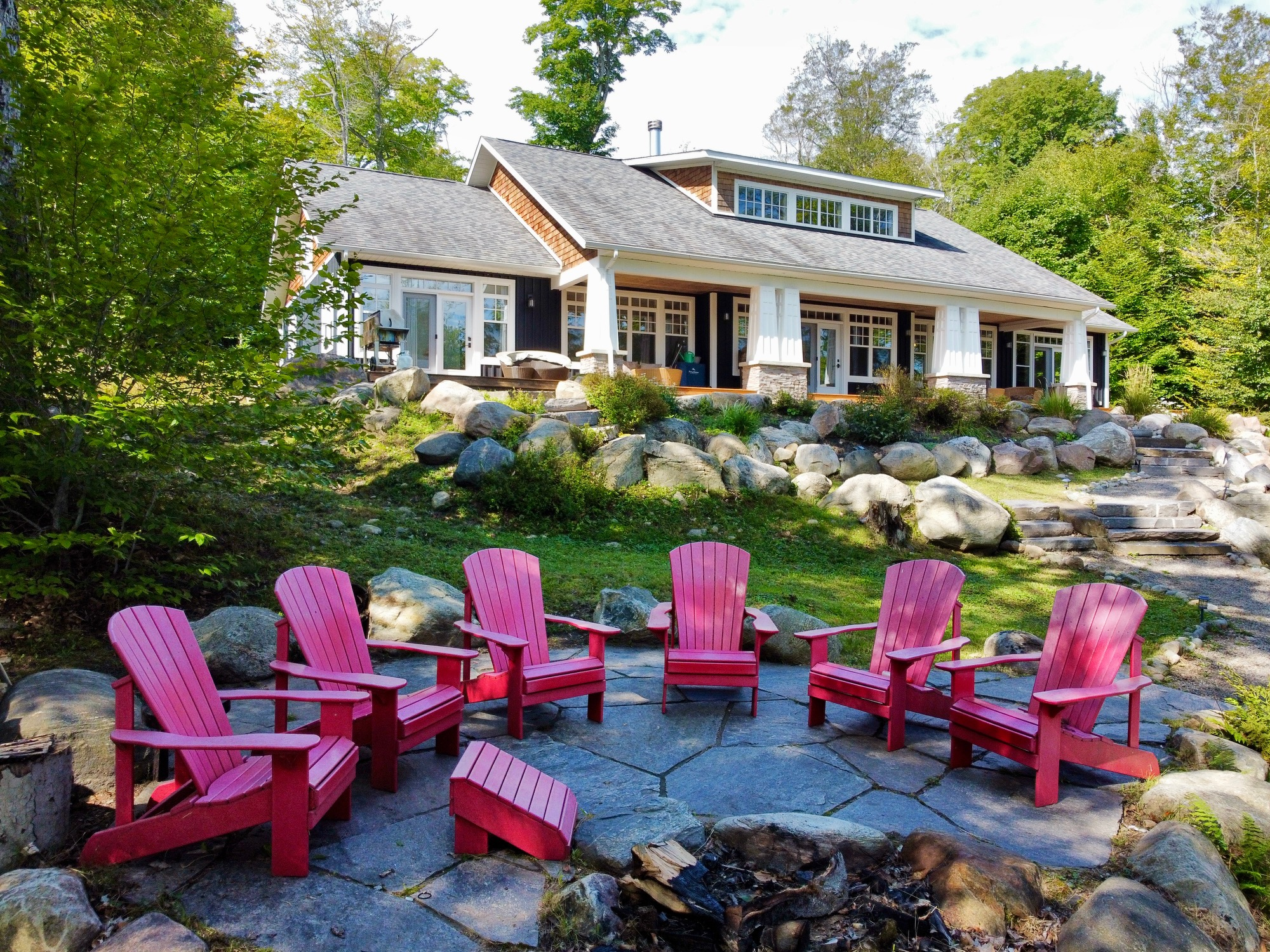 Lake Rosseau - Privacy & Chic Cottage comfort on Tobin Island