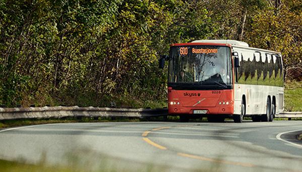 Med offentleg transport