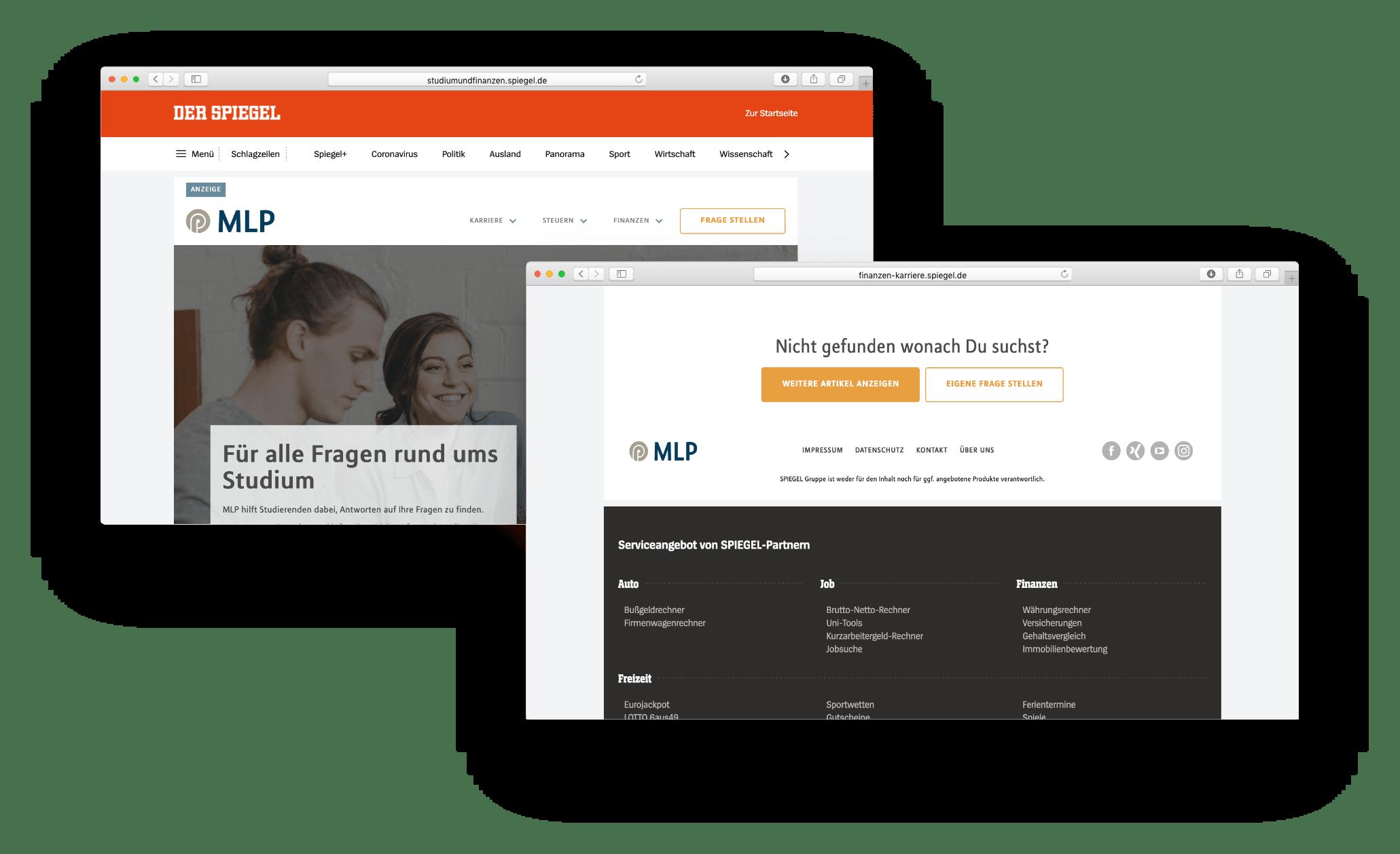 Kunden Beispiel Spiegel