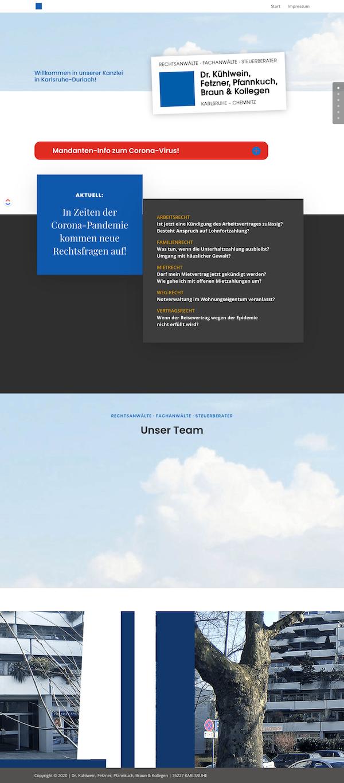 meine-rechte.de website screenshot