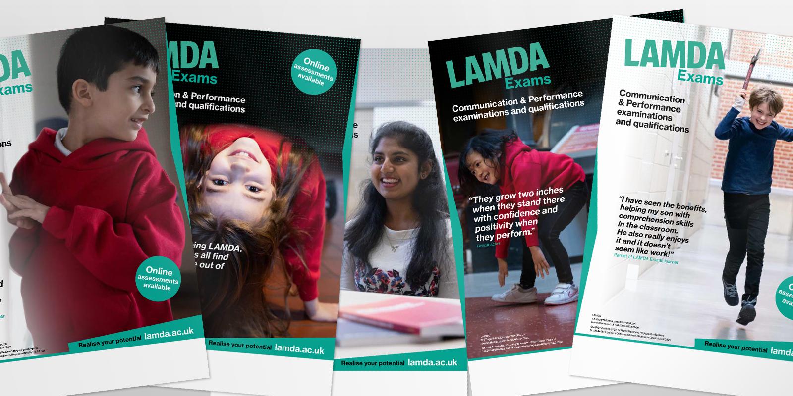 LAMDA Exams Posters for schools