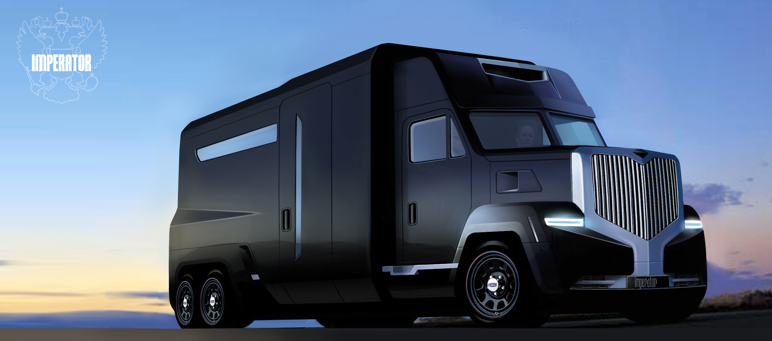Image of truck designed by Flowers  School of Technology
