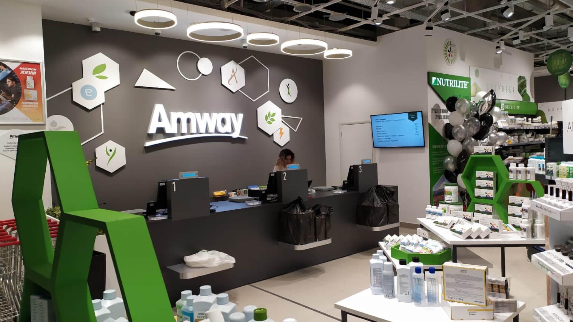 Магазин Amway