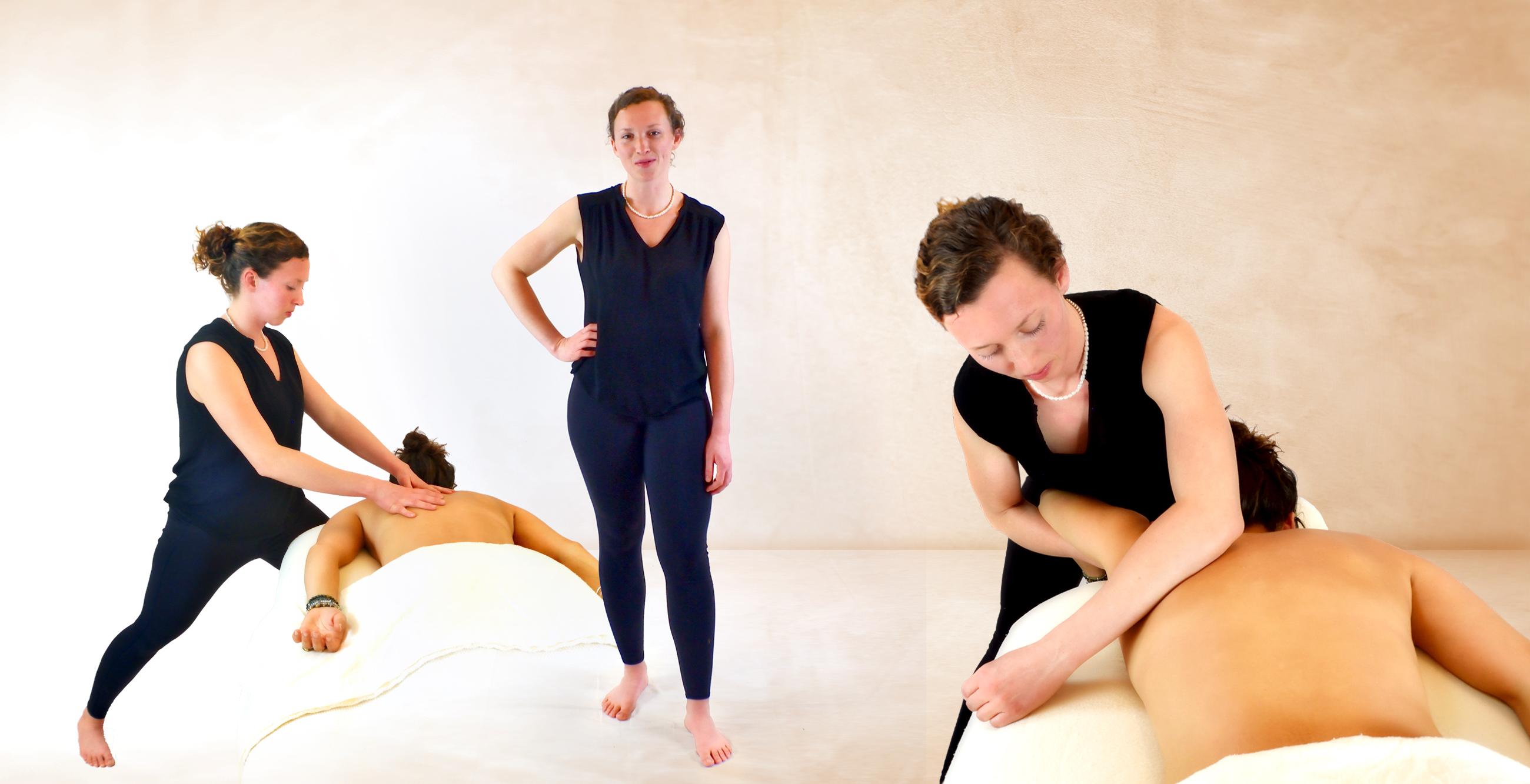 Haley Brady, massage therapist at Ginkgo Yoga and Wellness.