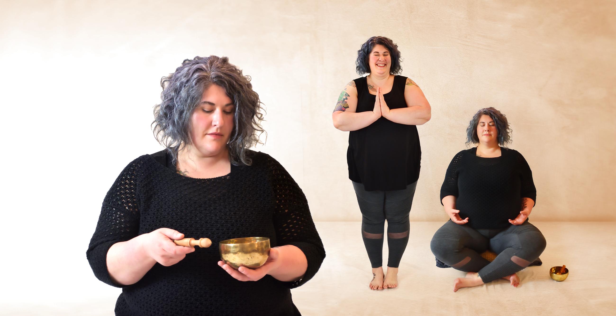 Jamie Johans Crosier, meditation practitioner at Ginkgo Yoga and Wellness.