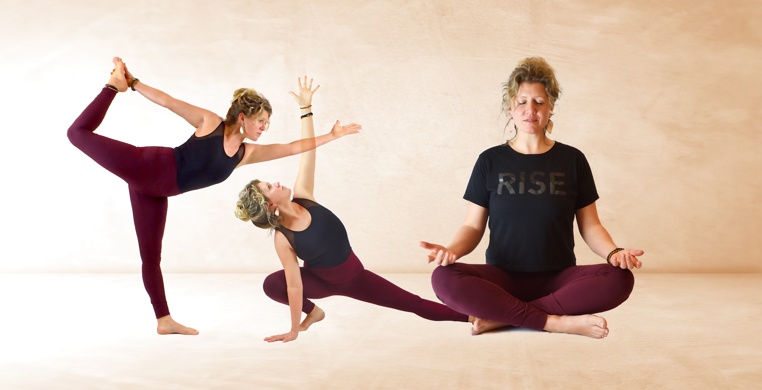 Sparrow Huffman, yoga instructor at Ginkgo Yoga and Wellness.