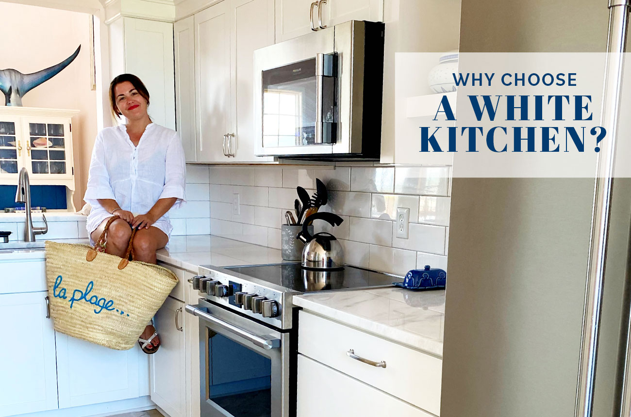 WHY CHOOSE A WHITE KITCHEN?