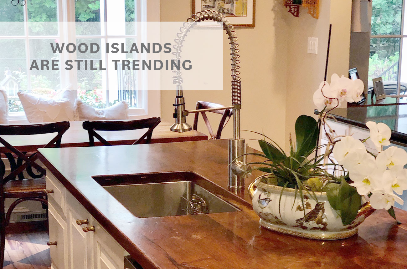 WOOD ISLANDS ARE STILL TRENDING