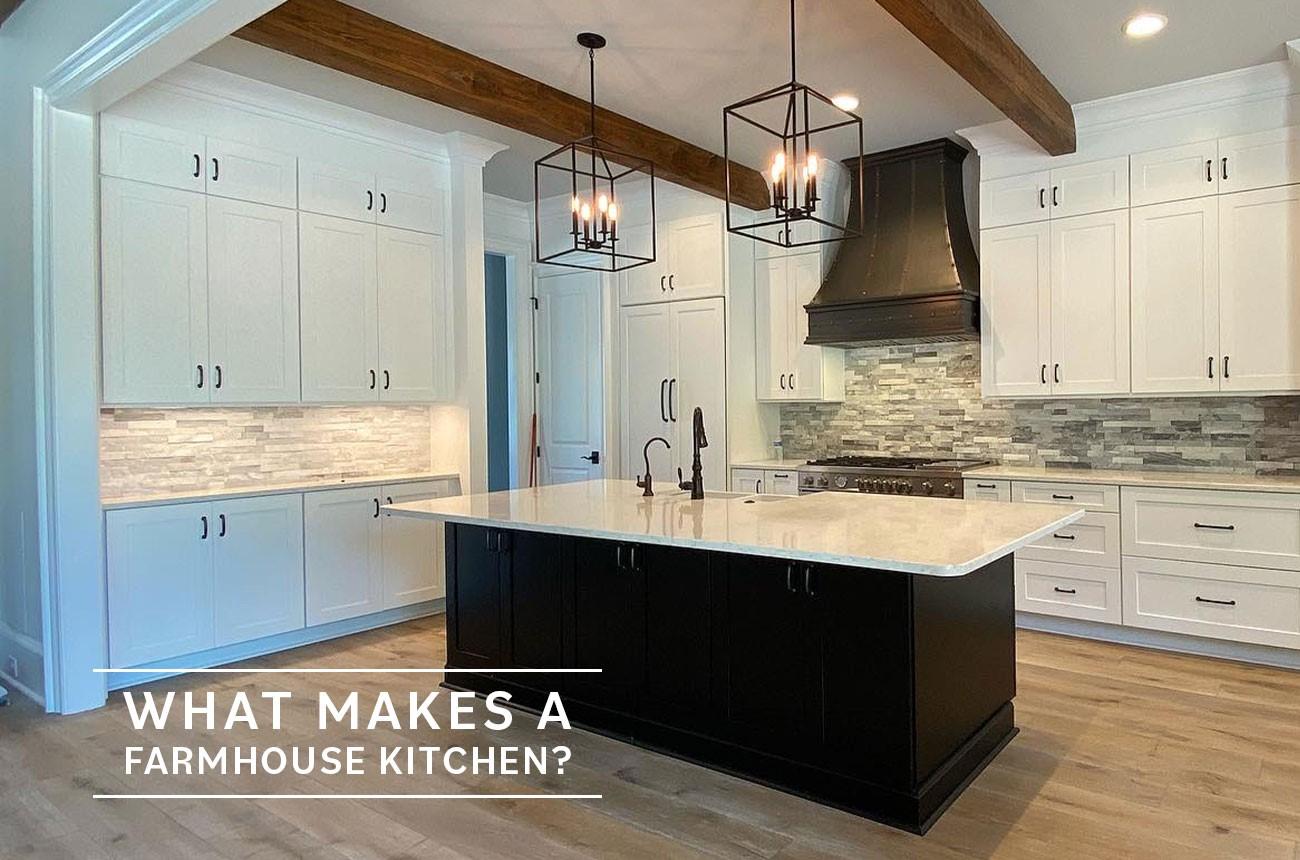 What Makes a Farmhouse Kitchen