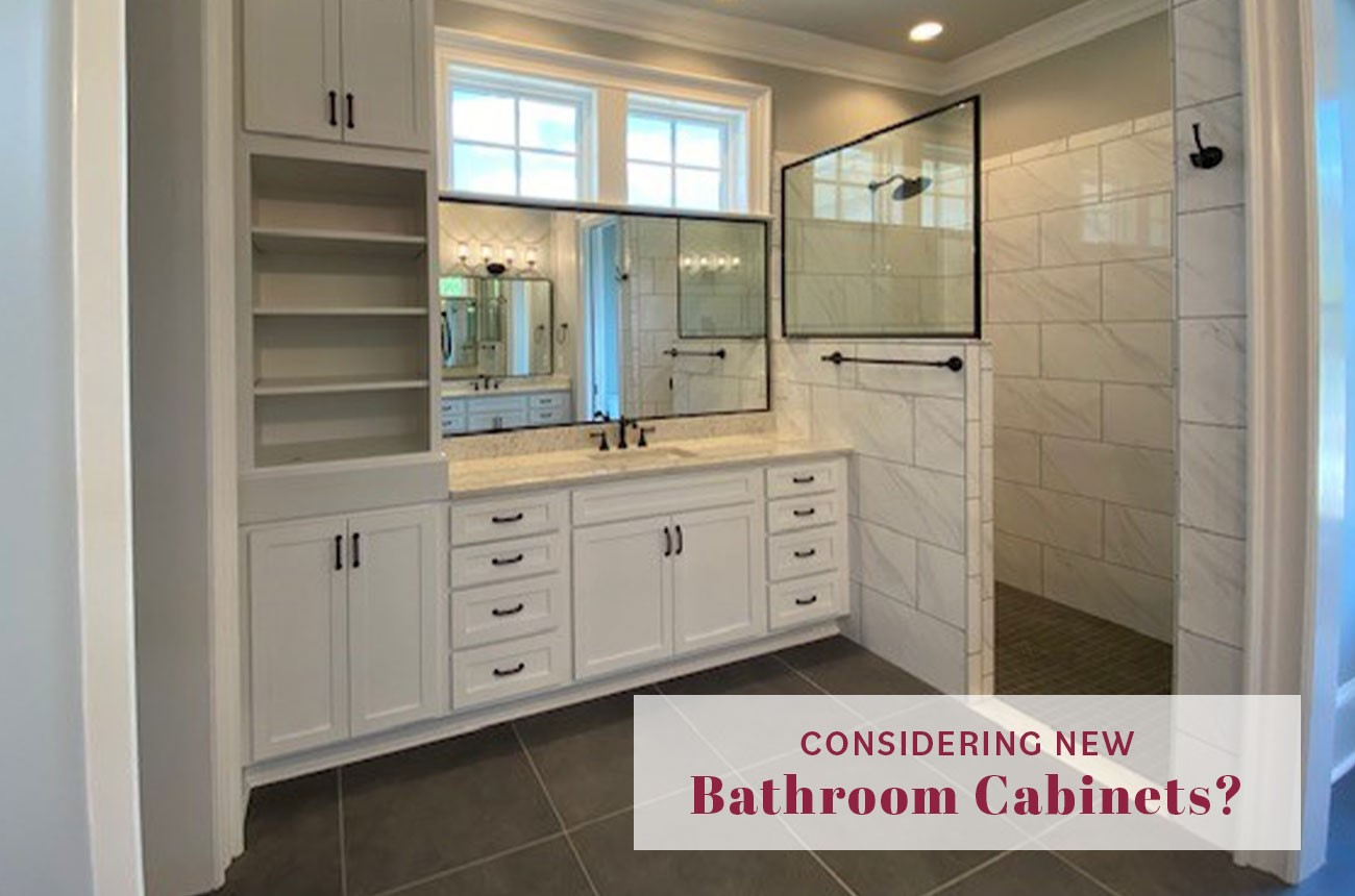 Considering New Bathroom Cabinets?