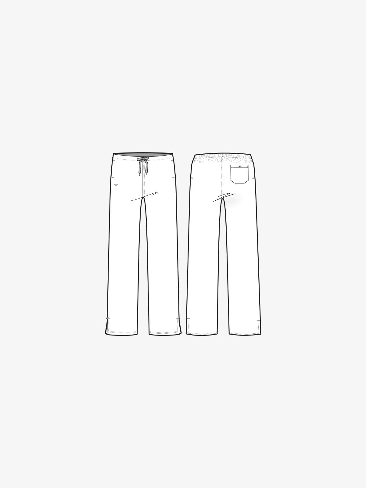 Signature Drawstring Pant | 8705