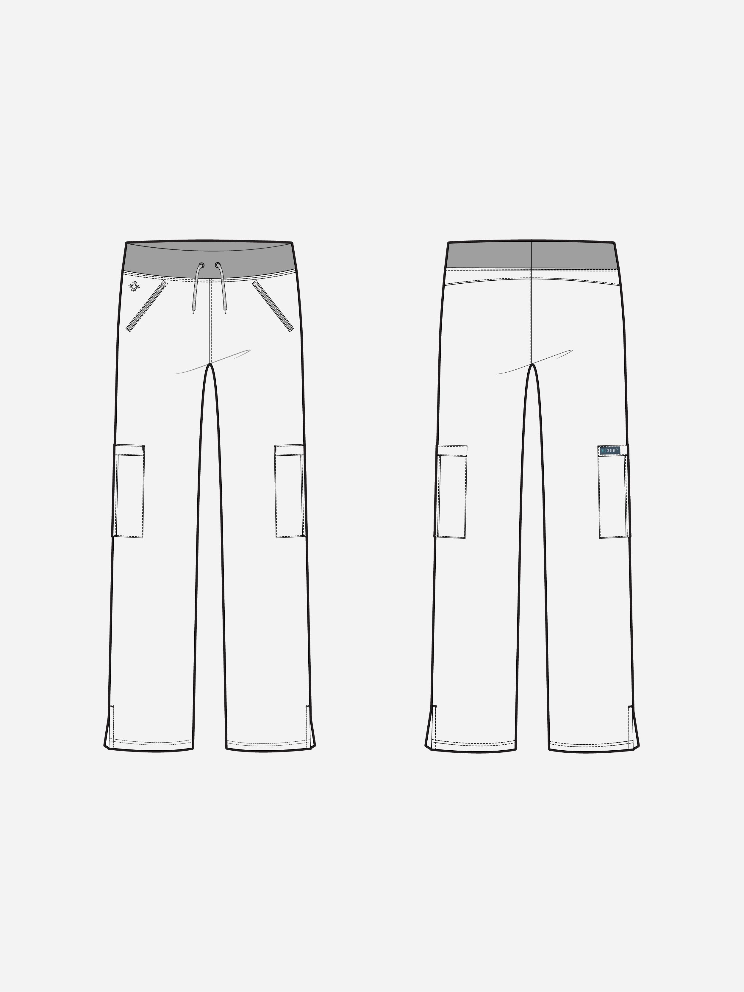 Insight Zipper Pant | 2702