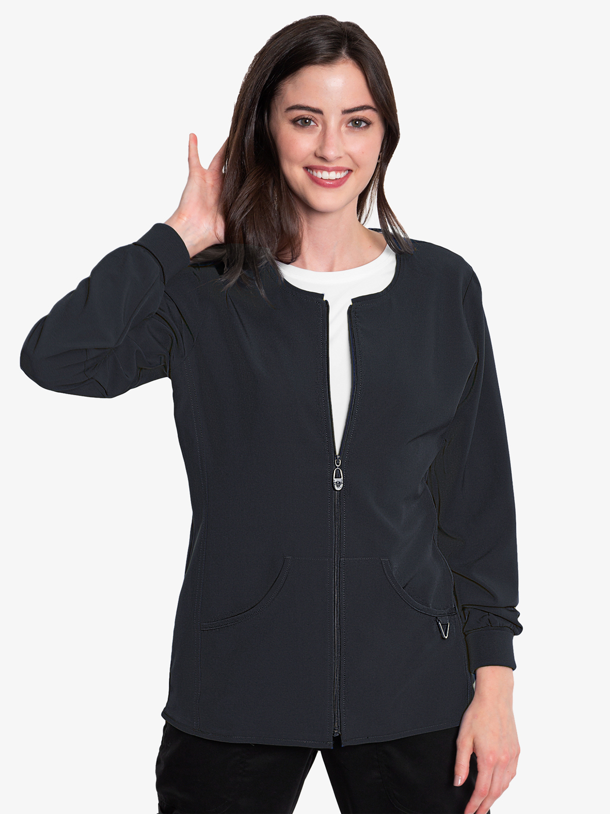 Layers Zip Front Warm Up | 8638