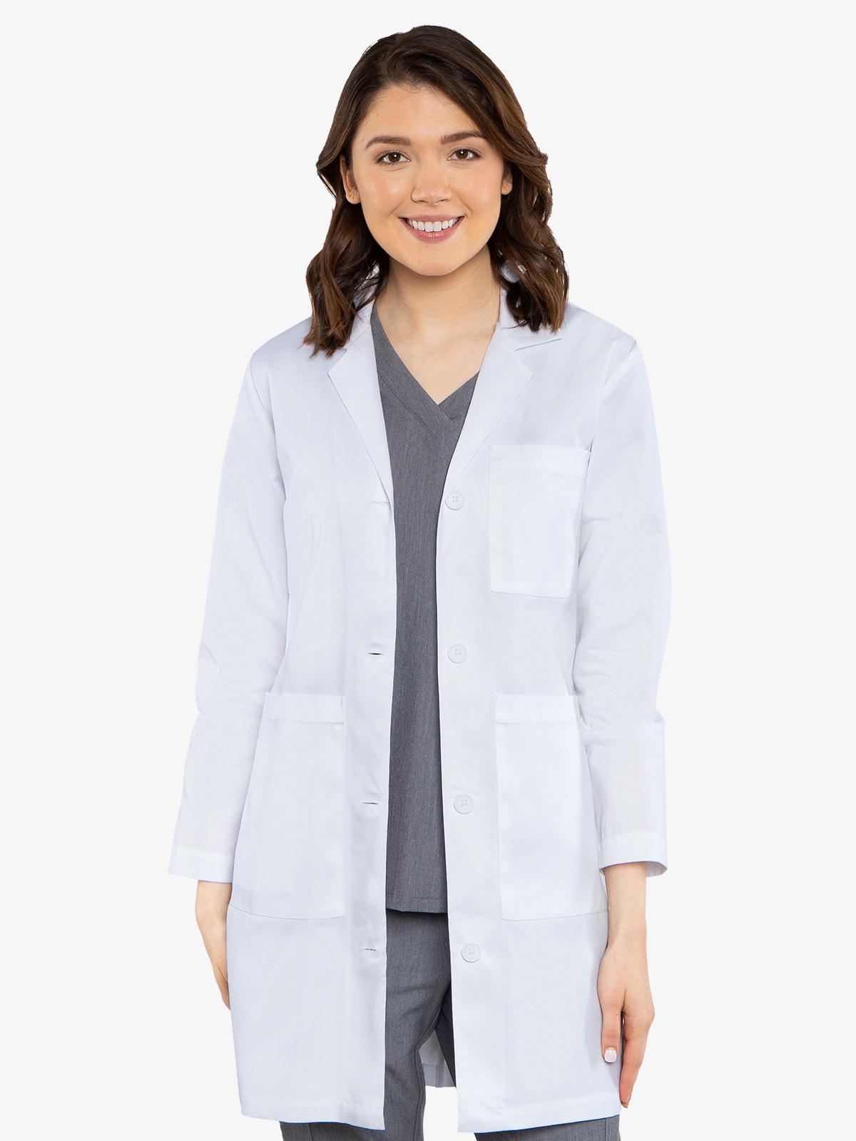 3 Pocket Long Length Lab Coat | 8608
