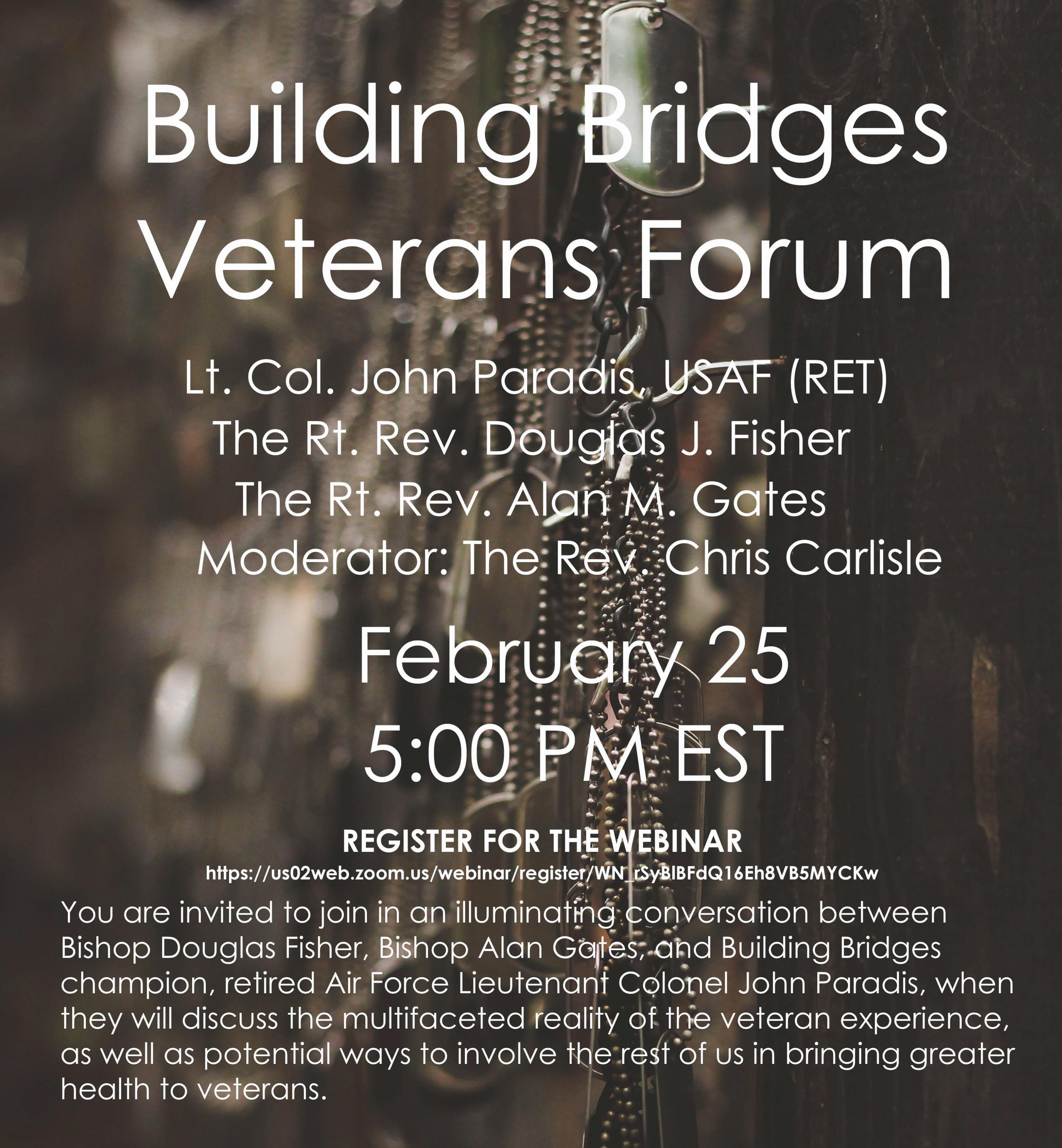 veterans forum 2021 flyer