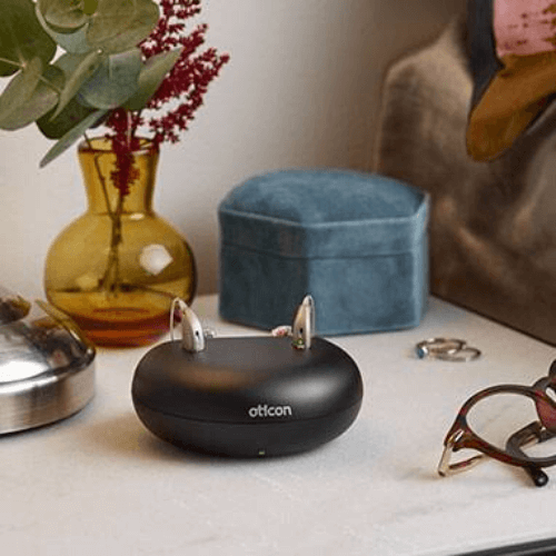 Oticon OPN S Tinnitus Rechargeable Hearing Aid