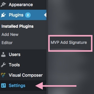 How to add a custom signature to your blog posts Lipstick and Pixels