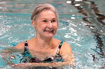 The retirement community wellness image, Franklin