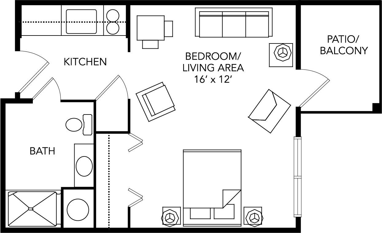 assisted living virginia floor plan