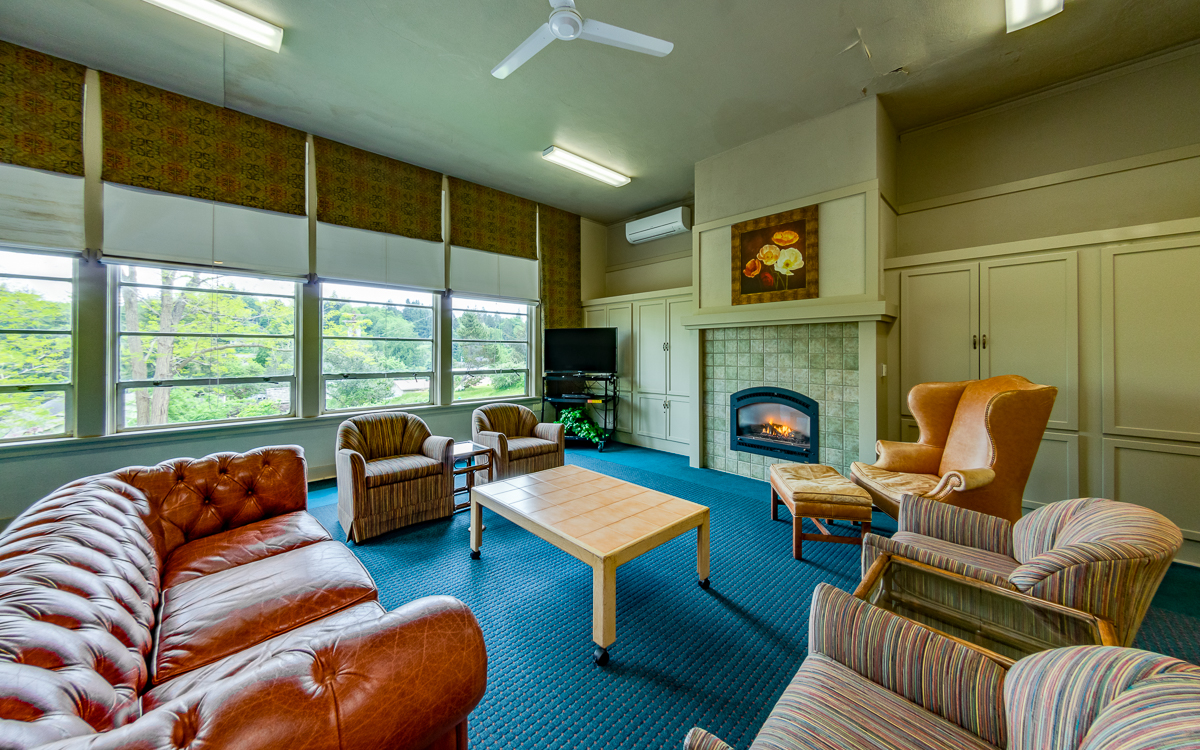 Fireside Room, available for rent!
