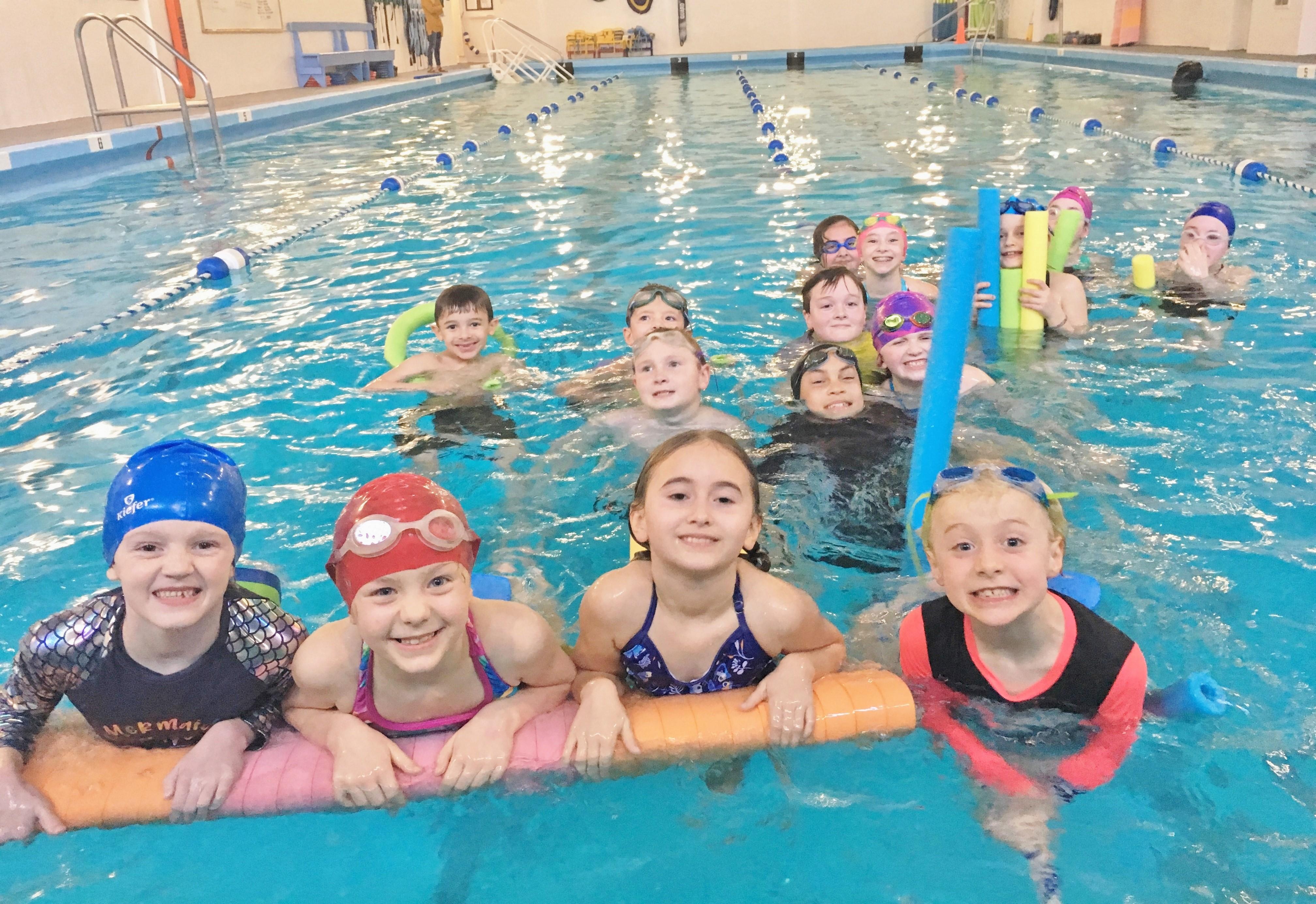 Kids enjoying the NCRD pool