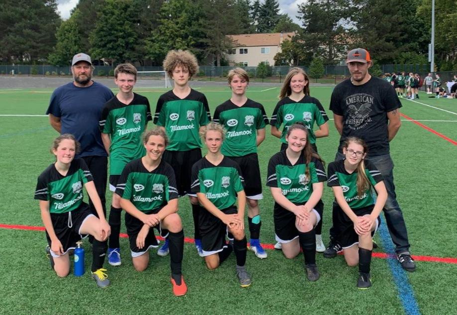 NCRD soccer team portrait