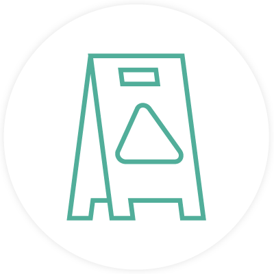 Janitorial cleaning icon
