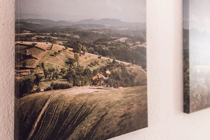 Decorate your home or office with canvas prints & elevate your photos to an art form.