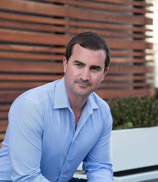 Profile shot of Chris Harvey, VC fund lawyer