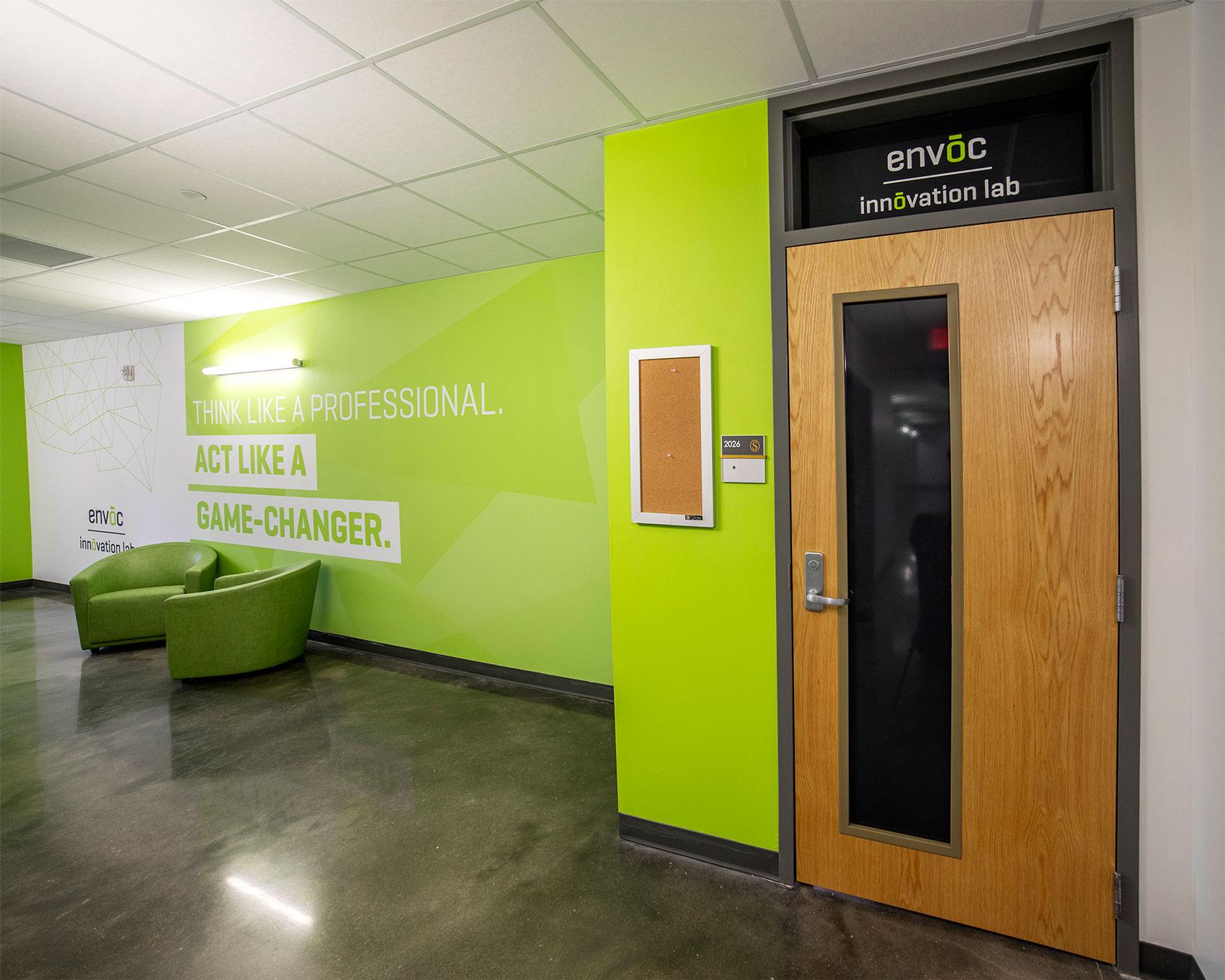 Envoc Innovation Lab Southeastern Louisiana University Hammond