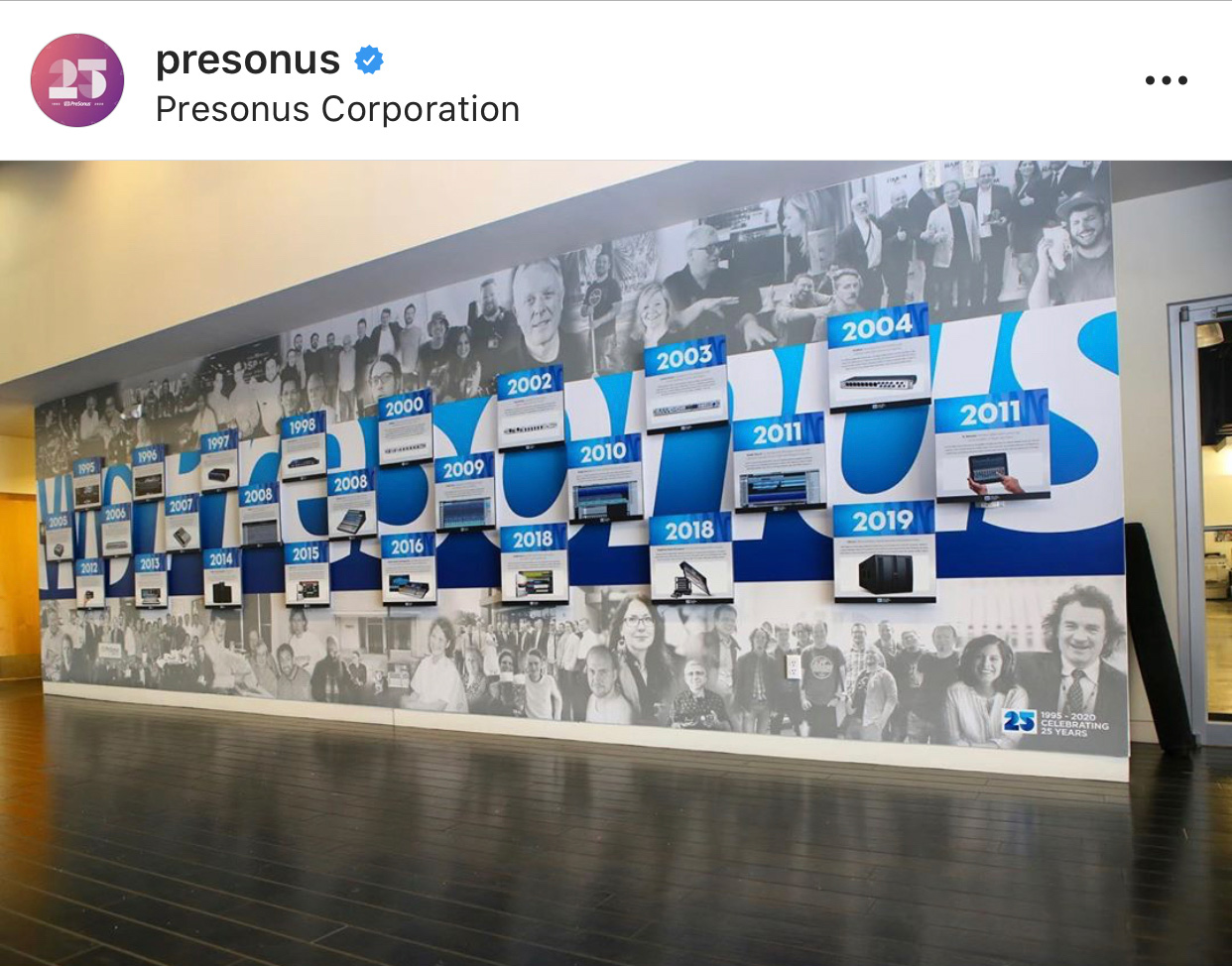 Presonus Baton Rouge Wall Vinyl with Standoffs
