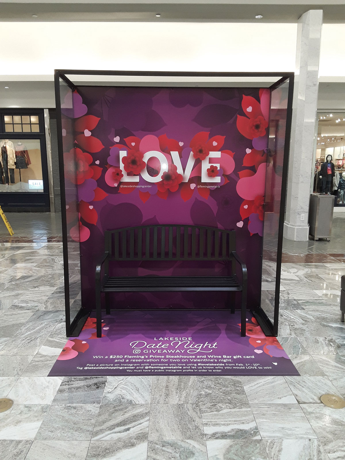 Lakeside Mall, Valentine's Day Booth