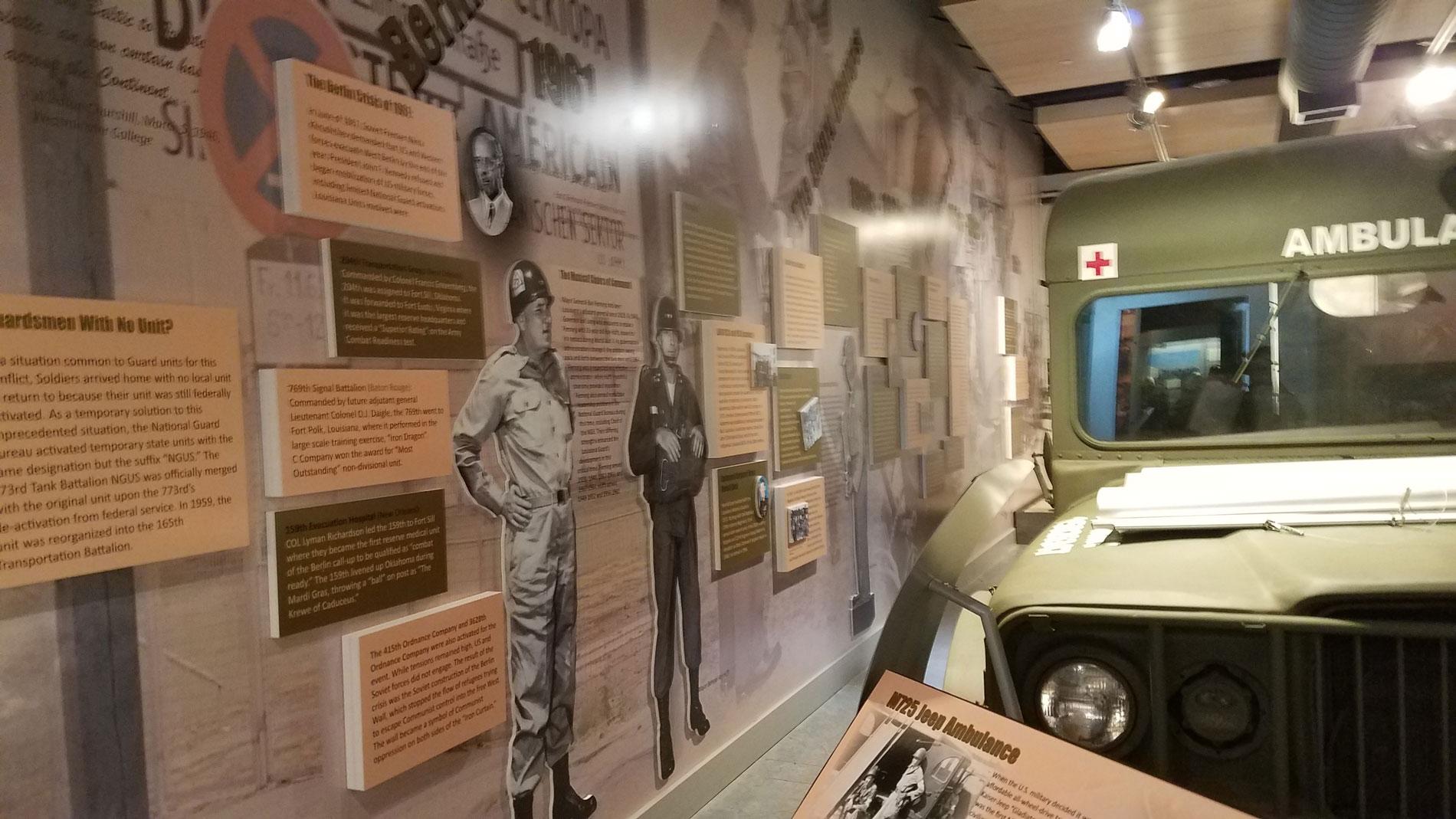 Louisiana National Guard Museum at Jackson Barracks