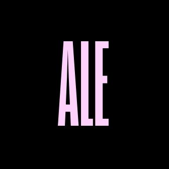 Ale logo black