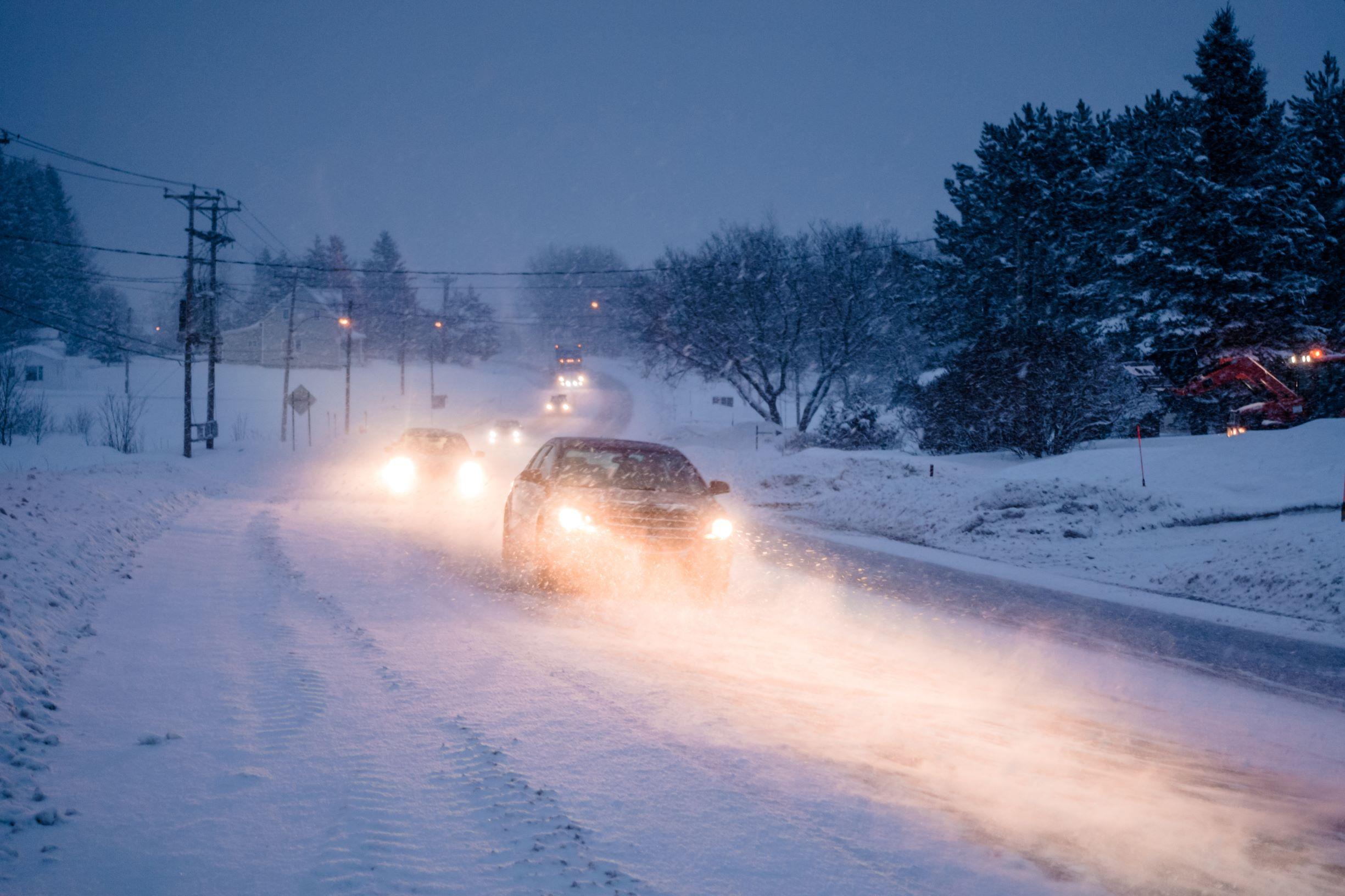 Winter road canada