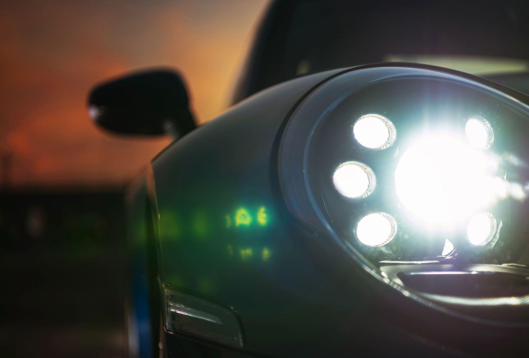 mini cooper head lights