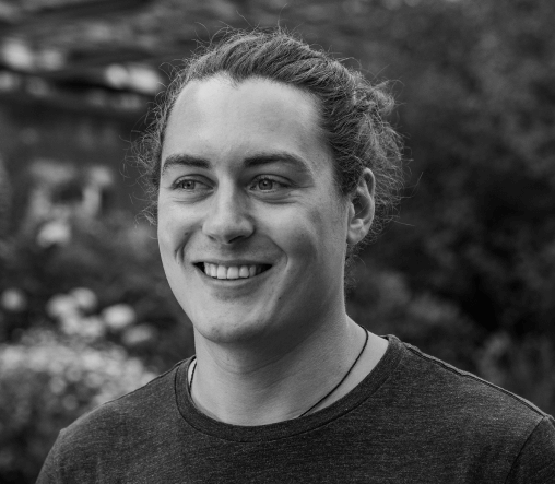 Corbinian Buchberger, project strategist at creative mules, portrait shot